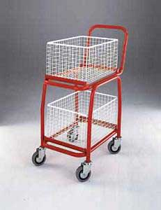 Trolleys Trucks and Trailers industrial & warehouse Mobile Safety Steps  UK made 507BT107 Standard