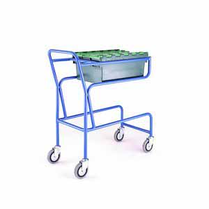Trolleys Trucks and Trailers industrial & warehouse Mobile Safety Steps  UK made CT03 Standard
