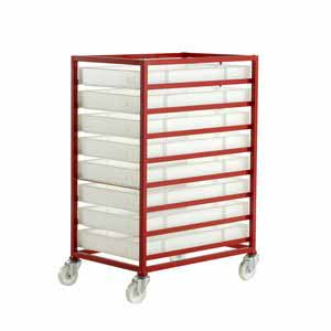 Trolleys Trucks and Trailers industrial & warehouse Mobile Safety Steps  UK made 506CT308 Standard