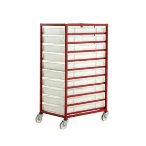 Trolleys Trucks and Trailers industrial & warehouse Mobile Safety Steps  UK made 506CT310 Standard