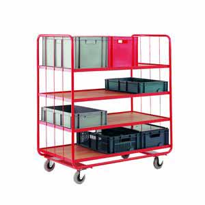 Trolleys Trucks and Trailers industrial & warehouse Mobile Safety Steps  UK made CT48 Standard