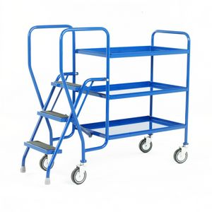 Trolleys Trucks and Trailers industrial & warehouse Mobile Safety Steps  UK made 511S181 Standard