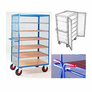 Trolleys Trucks and Trailers industrial & warehouse Mobile Safety Steps  UK made TS39T Standard