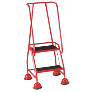 Trolleys Trucks and Trailers industrial & warehouse Mobile Safety Steps  UK made S005 Green,Red,Blue,Yellow,Grey,Sandstone