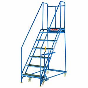Trolleys Trucks and Trailers industrial & warehouse Mobile Safety Steps  UK made S082 Standard