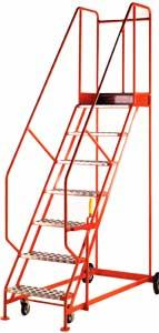 Trolleys Trucks and Trailers industrial & warehouse Mobile Safety Steps  UK made S132 Standard