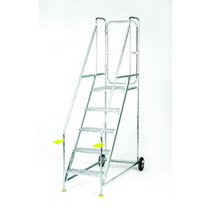 Trolleys Trucks and Trailers industrial & warehouse Mobile Safety Steps  UK made S712 Standard