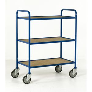 Trolleys Trucks and Trailers industrial & warehouse Mobile Safety Steps  UK made 501TT61 blue,red