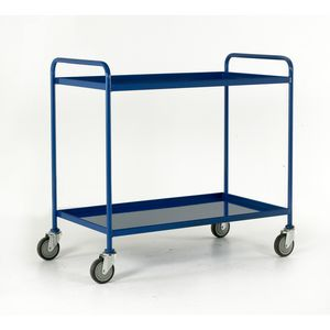 Trolleys Trucks and Trailers industrial & warehouse Mobile Safety Steps  UK made 507TT76 blue,red