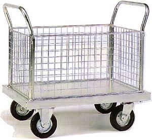 Trolleys Trucks and Trailers industrial & warehouse Mobile Safety Steps  UK made 509ZP604M Standard