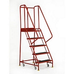 Mobile Warehouse Safety Steps Working Height 2m - 3m. - s048.jpg