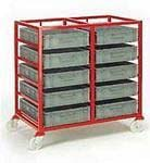 Euro Container Trolley | Picking Containers | Production Trolley