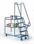 Trolley Order Picking | Warehouse Picking Trolley | Fulfillment Trolley | Trollies with Steps