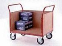 Solid sided flatbed trucks trolley and platform trolleys