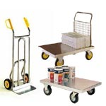 Food Grade Stainless and Galvanised Trucks and Trolleys