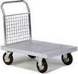 Galvanised and zinc plated sack trucks and trolleys - Tel: 01367 711 800
